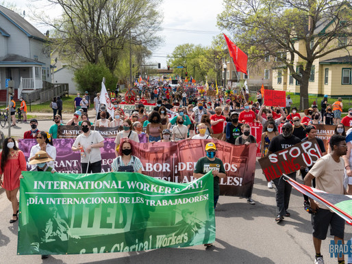 [Photos] International Workers Day March in Minneapolis