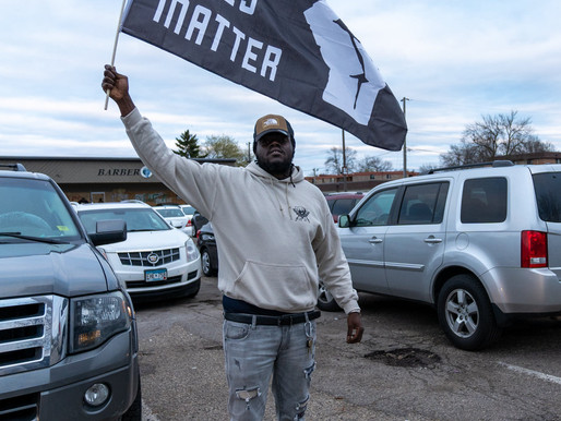 [Photos] April 15: Night 5 Protest for Justice for Daunte Wright