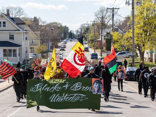 [Photos] April 24: Adam Toledo March & Vigil for Yadhira Romero Martinez