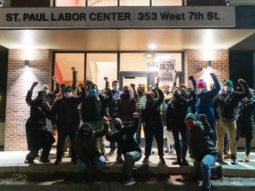 [Photos] April 14: Union members win removal of Nat'l Guard from Labor building