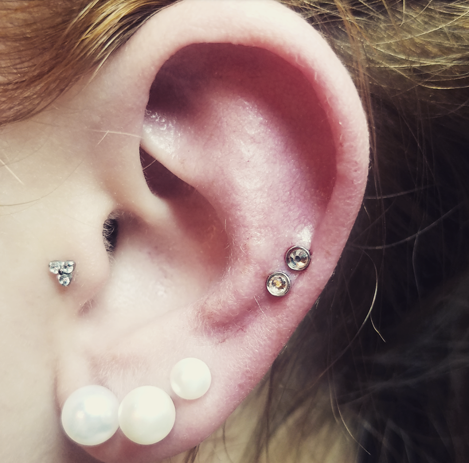 Double Helix with Studs