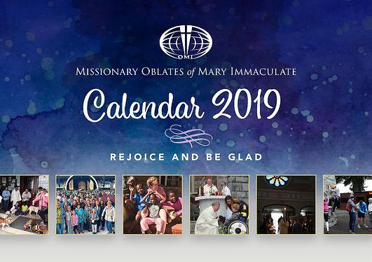 2019 Oblate Calendars