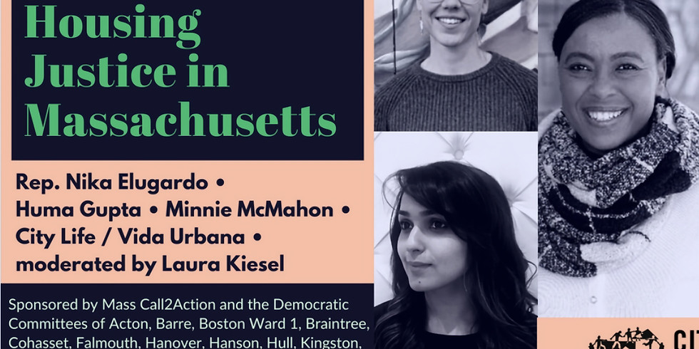 Homes for All:  Housing Justice in Massachusetts