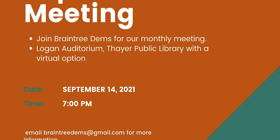 BDTC September Meeting