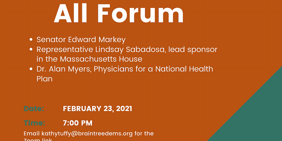 Medicare for All Forum