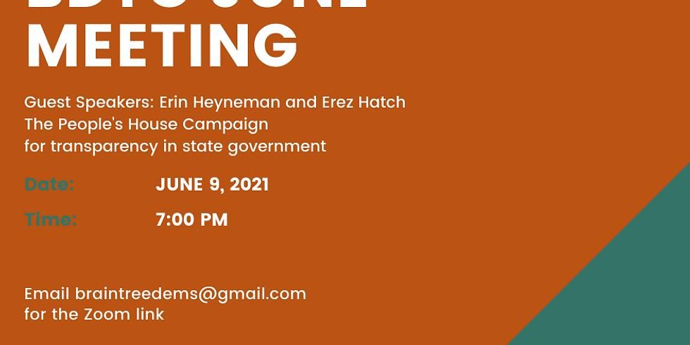 BDTC June Meeting