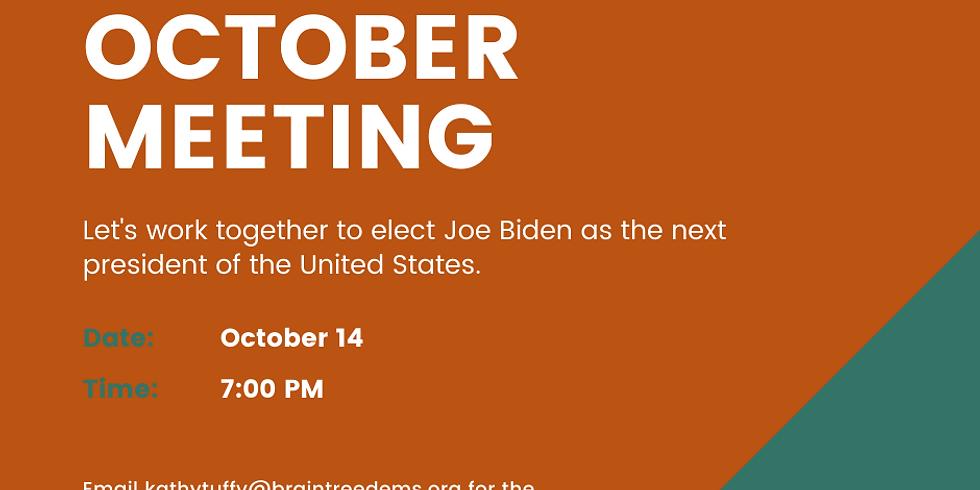 October Braintree Dems Meeting