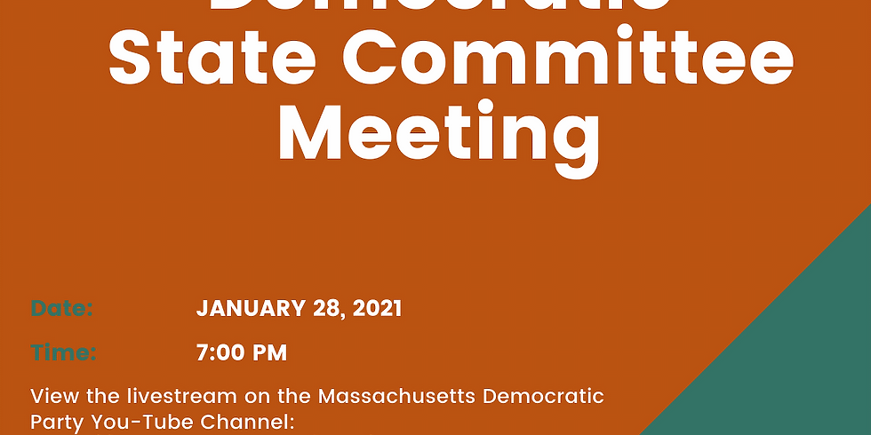 Mass Dems State Committee Meeting