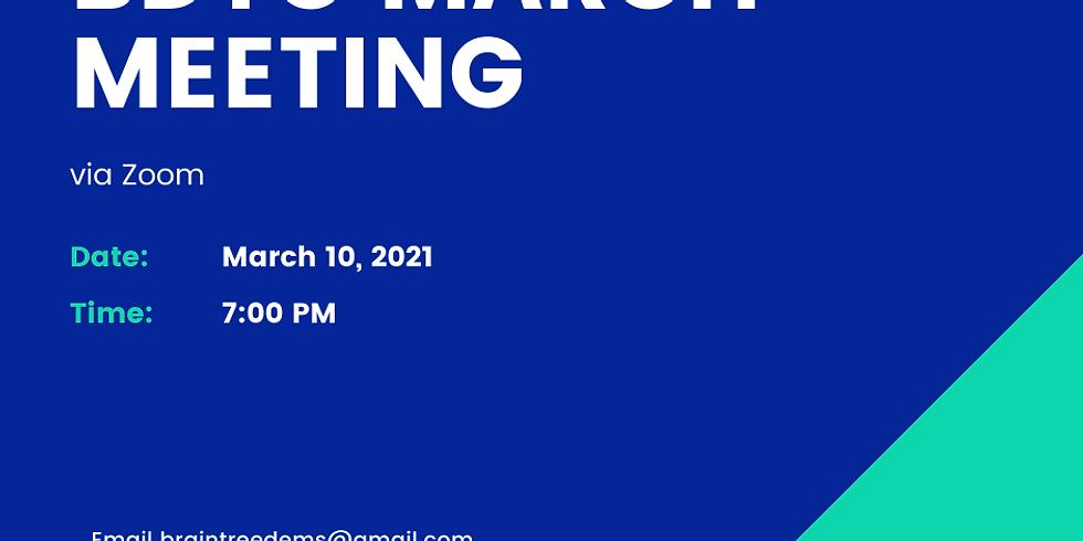 BDTC March Meeting