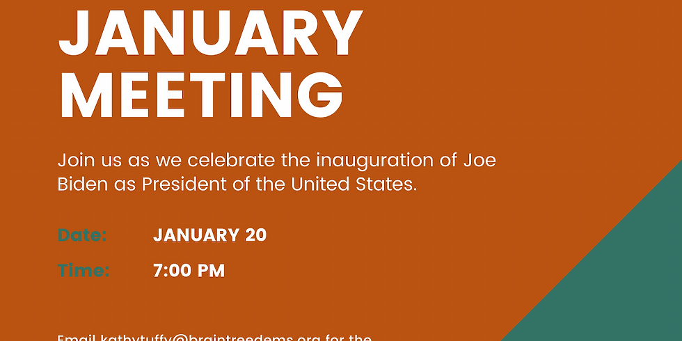 January Braintree Dems Meeting