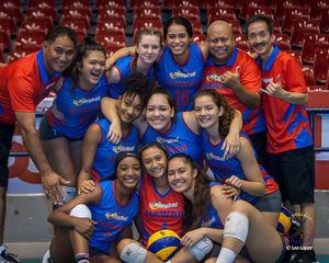 Team Hawaii wins Silver Medal in International Volleyball