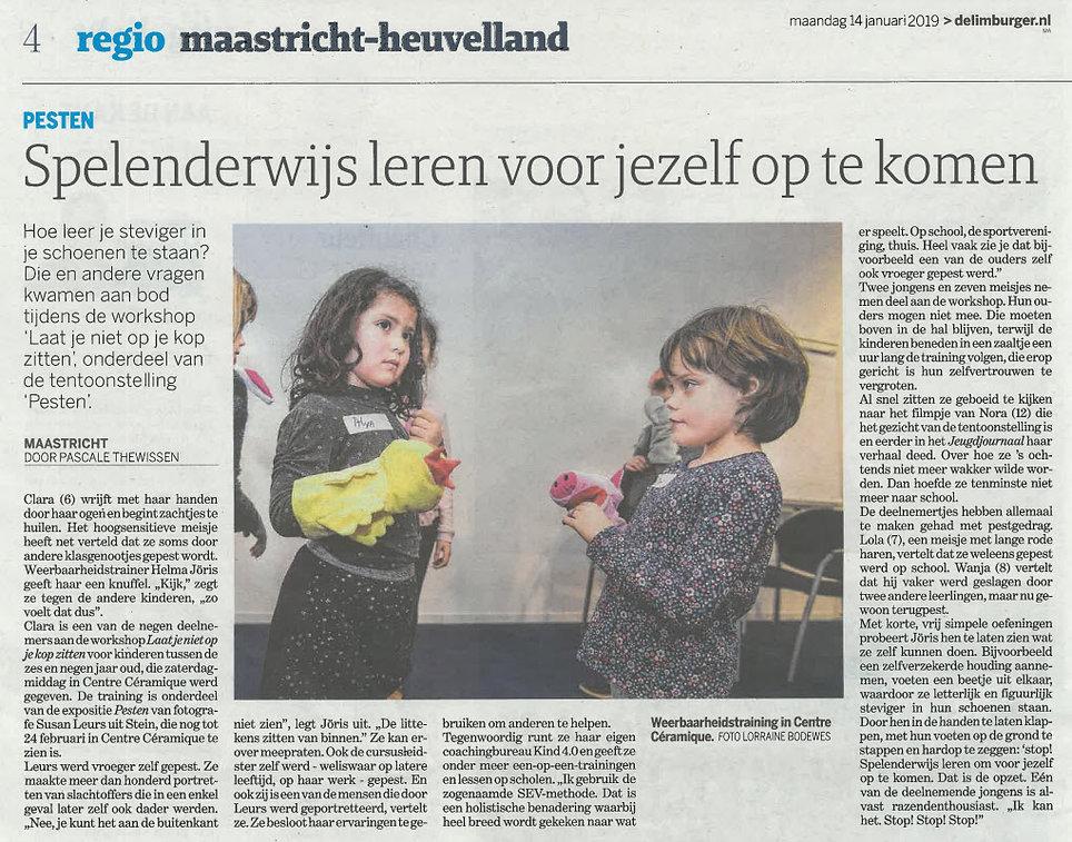 Dagblad De Limburger 14 jan 2019.jpg