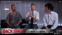 BACKSTAGE interview Emilio Insolera director lead actor Sign Gene movie