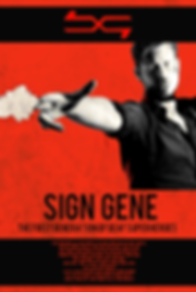 Sign Gene, poster, film, Emilio Insolera,