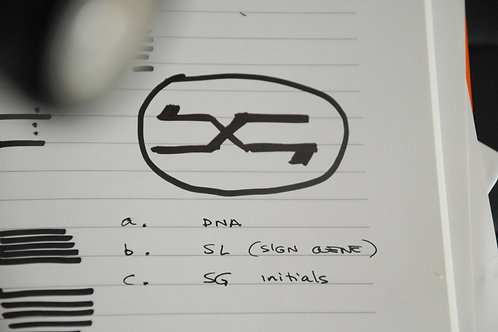 SIGN GENE LOGO (7x5 cm)