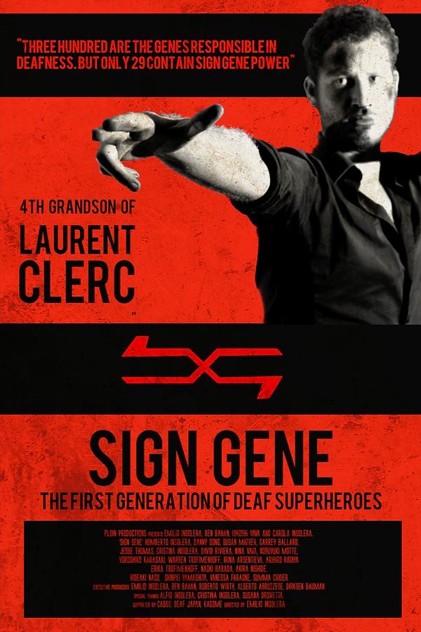 Sign Gene, poster, film, Emilio Insolera,