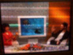 NHK interview Tokyo Japan Emilio Insolera director actor Sign Gene movie