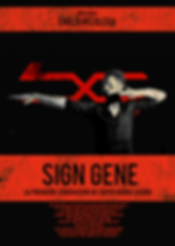 Sign Gene, poster, French, film, Emilio Insolera,