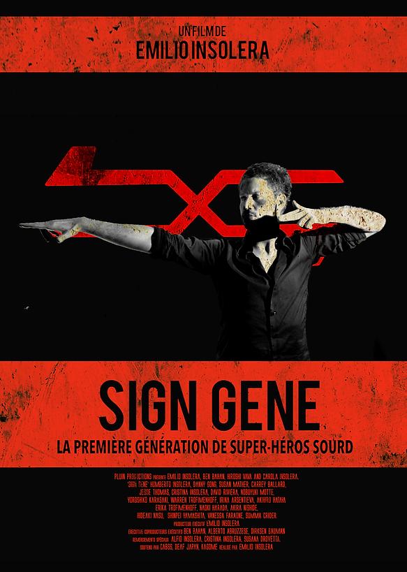 Sign Gene, poster, French, film, Emilio Insolera,