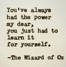 The power is in YOU!