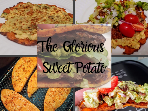 180° Sweet Potato Taco Shell, Burger Bun or Sandwich Toast