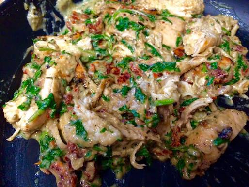 180° Creamy Tuscan Chicken Dinner OR Dip!