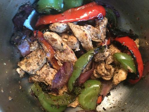 180° Spicy Three Pepper Kebabs