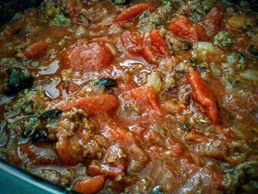 180° Crockpot Lasagna Bake