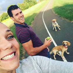 #summerfun #dogwalks #dogsofinstagram #l