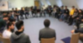 Workshop Gruppe Stuhlkreis