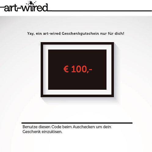 Geschenkgutschein €100,-