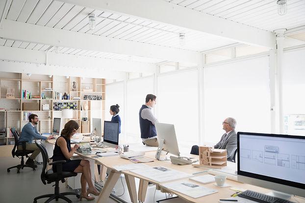 열린 공간 사무실