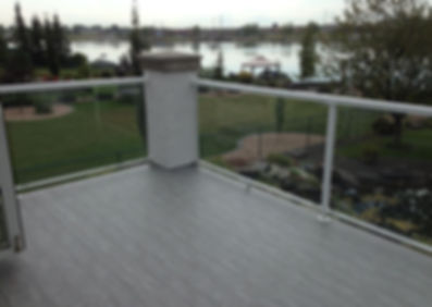 Outdoor patio using IntelliDeck