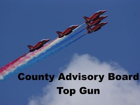 Congratulations Top Gun Larry Barr!