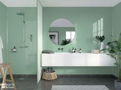 Contemporary High Gloss Green