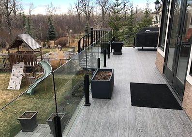 Outside patio with IntelliDeck