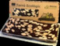 Torró ecològic de xocolata amb àgave massaxuxes