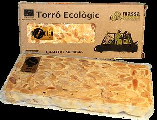 Torró ecològic d'Alacant massaxuxes