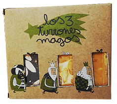 Turrones ecológicos massaxuxes: Los tres turrones magos