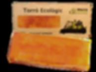 Torró ecològic de gema cremada massaxuxes