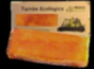 Turrón ecológico de yema tostada massaxuxes