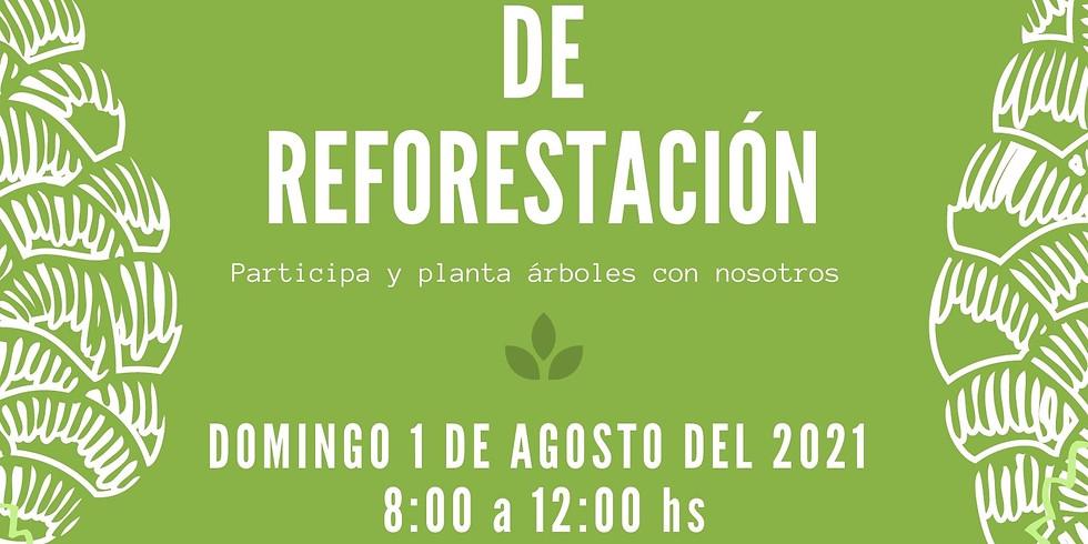 Campaña anual de Reforestación 2021