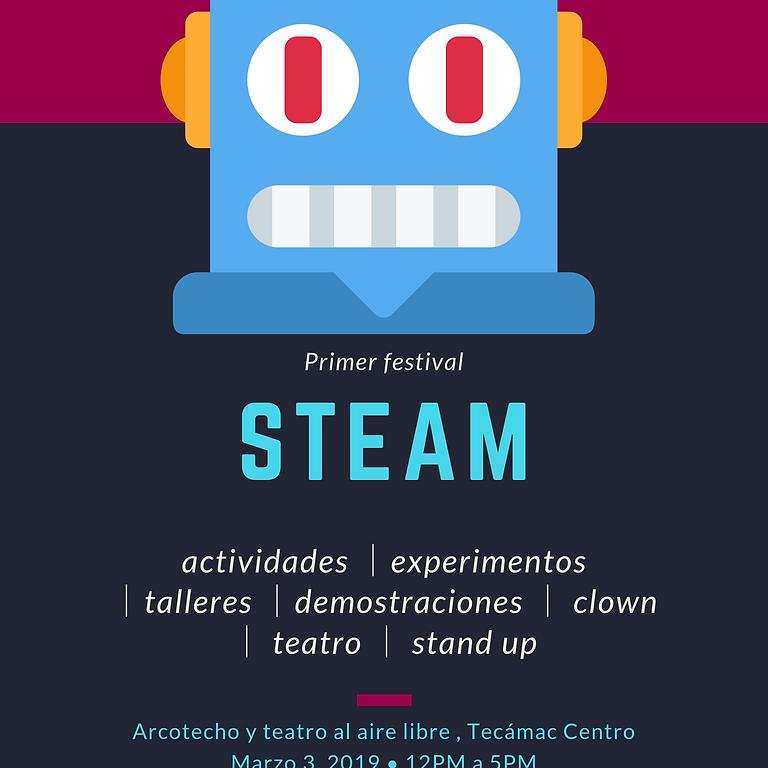 Primer Festival STEAM Tecámac 2019