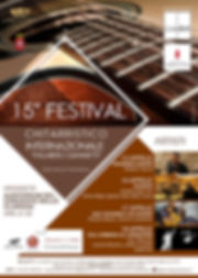 15th Festival Giannetti poster