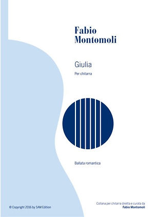 PDF sheet mu by Fabio Montomoli : Giulia