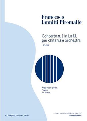 PDF sheet music by Francesco Iannitti:Concerto n.1