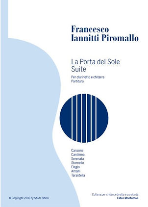 PDF sheet music by Francesco Iannitti: La porta del sole