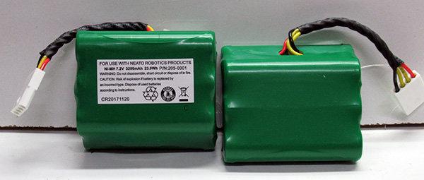 זוג מארזי סוללות 7.2V 3.2Ah כולל קונקטור