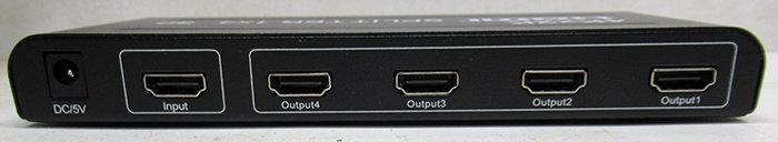 מפצל מגבר HDMI ל-4 יציאות