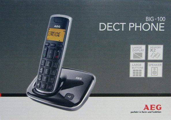 טלפון שולחני תצוגה ולחצנים גדולים - אינווה